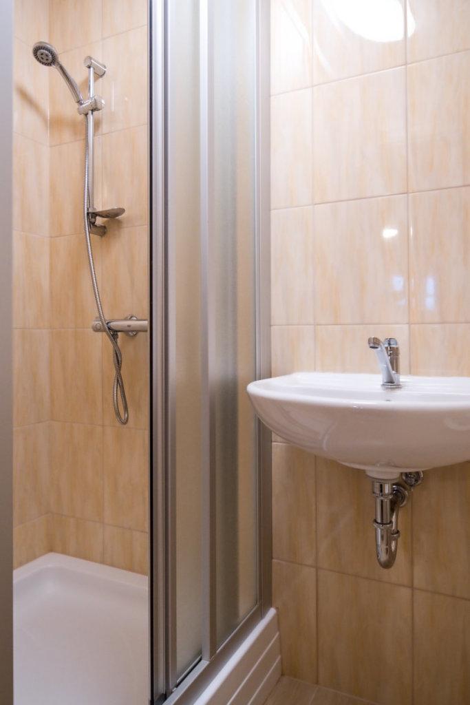 Pokoj 5 Koupelna | Pension & Restaurant Bouda U Kostela